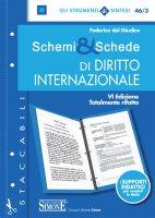 Schemi & Schede di Diritto Internazionale - Federico del Giudice