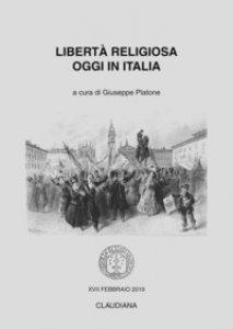 Copertina di 'Libertà religiosa oggi in Italia'