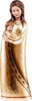 Statua della Madonna Jasmine in legno dipinto a mano, linea da 10 cm, Madonne stile moderno - Demetz Deur
