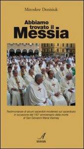 Copertina di 'Abbiamo trovato il Messia'