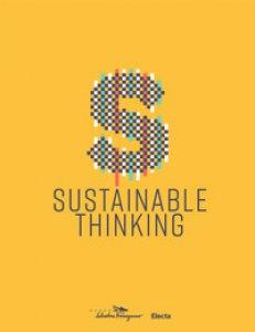 Copertina di 'Sustainable thinking. Catalogo della mostra (Firenze, 12 aprile 2019-8 marzo 2020)'