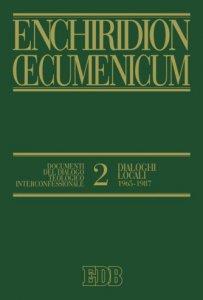 Copertina di 'Enchiridion Oecumenicum. 2'