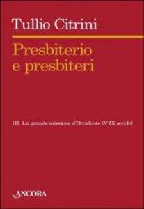 Copertina di 'Presbiterio e presbiteri'