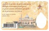 Immagine di 'Card medaglia Giovanni XXIII (10 pezzi)'