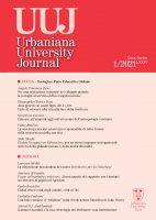 Urbaniana University Journal 2021/1 : Focus - Teologia e Patto Educativo Globale