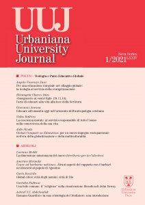 Copertina di 'Urbaniana University Journal 2021/1 : Focus - Teologia e Patto Educativo Globale'