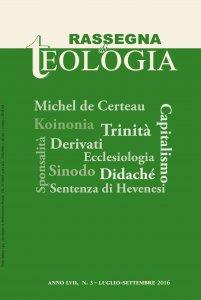 Copertina di 'Rassegna di Teologia n. 3/2016'