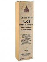 Dentifricio aloe al 15% di aloe vera