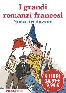 Copertina di 'I grandi romanzi francesi'
