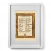 Quadro Cantico delle Creature (30x40) - San Francesco d'Assisi