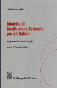 Copertina di 'Modello di Costituzione federale per gli italiani'