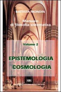 Copertina di 'Epistemologia e cosmologia'