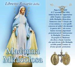 Copertina di 'Libretto Rosario  della Madonna Miracolosa e coroncina'