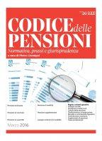 Codice delle pensioni 2016 - Pietro Pietro Gremigni