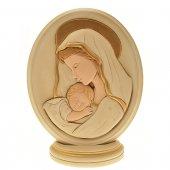 Ovale Madonna col bambino (20,5 x 17)