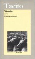 Storie. Testo latino a fronte - Tacito P. Cornelio