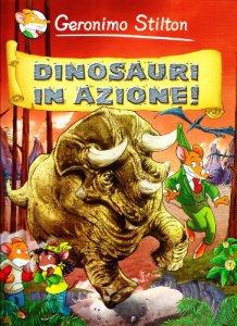 Copertina di 'Dinosauri in azione!'