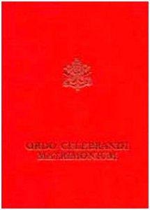 Copertina di 'Ordo celebrandi matrimonium'