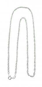 Copertina di 'Catena corda in argento 925 cm 50'