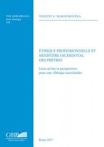 Copertina di 'Ethique professionnelle et ministere sacerdotal'