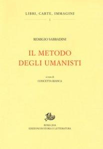 Copertina di 'Il metodo degli umanisti'