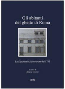 Copertina di 'Gli abitanti del ghetto di Roma'