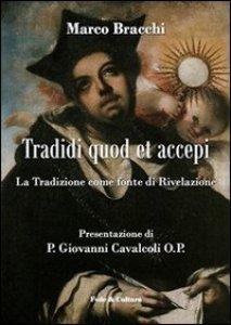 "Copertina di '""Tradidi quod et accepi""'"