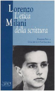 Copertina di 'Lorenzo Milani. L'etica della scrittura'