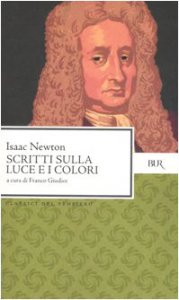 Copertina di 'Scritti sulla luce e i colori'