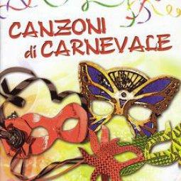 Copertina di 'Canzoni di Carnevale. Compilation per bambini'