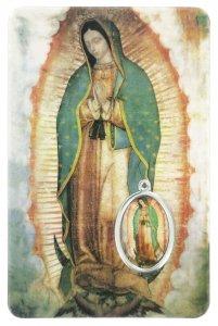 Copertina di 'Card Madonna di Guadalupe in PVC - 5,5 x 8,5 cm - italiano'