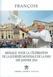 Copertina di 'Message pour la célébration de la Journée Mondiale de la Paix'