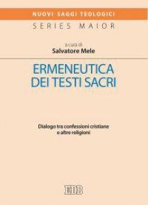 Copertina di 'Ermeneutica dei testi sacri'