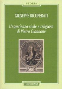 Copertina di 'L' esperienza civile e religiosa di Pietro Giannone'