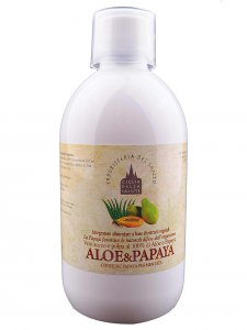 Copertina di 'Succo di aloe e papaya 500 ml.'