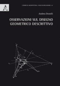 Copertina di 'Osservazioni sul disegno geometrico descrittivo'