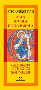 Copertina di 'Alla scuola della Parola. Calendario liturgico 2017-2018'
