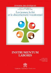 Copertina di 'Les jeunes, la foi et le discernement vocationnel. Instrumentum laboris'