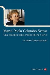 Copertina di 'Maria Paola Colombo Svevo'
