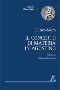 Copertina di 'Il concetto di materia in Agostino'