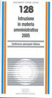 Istruzione in materia amministrativa 2005 - Conferenza Episcopale Italiana
