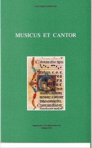 Copertina di 'Musicus et cantor'