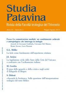 Copertina di 'Studia Patavina 2013/2'