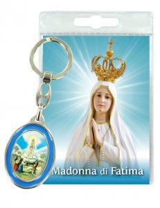 Copertina di 'Portachiavi Madonna di Fatima con preghiera in italiano'