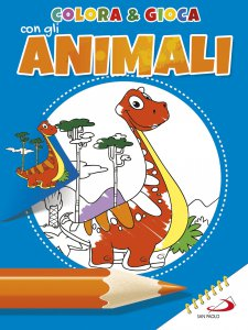 Copertina di 'Colora e gioca con gli animali'