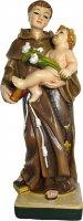 Statua Sant'Antonio da 12 cm in confezione regalo con immaginetta di  su LibreriadelSanto.it