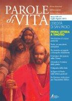 Il ministero del pastore nella Chiesa (1Tm 3-5) - De Virgilio Giuseppe
