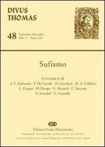 Copertina di 'Sufismo'