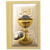 Vangelo tascabile con placca in argento - Comunione