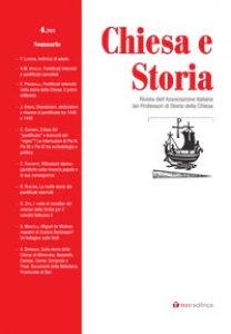 Copertina di 'Chiesa e Storia 4.2014. Pontificati interrotti nella storia della Chiesa: deposizioni, abdicazioni, deportazioni, rinunce'